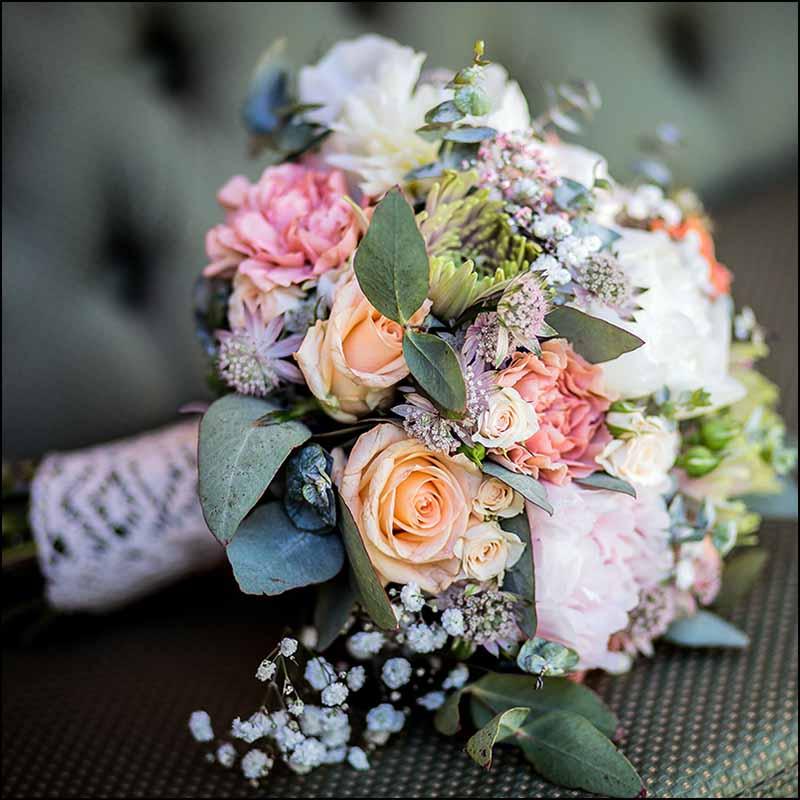 brudebuket i Randers