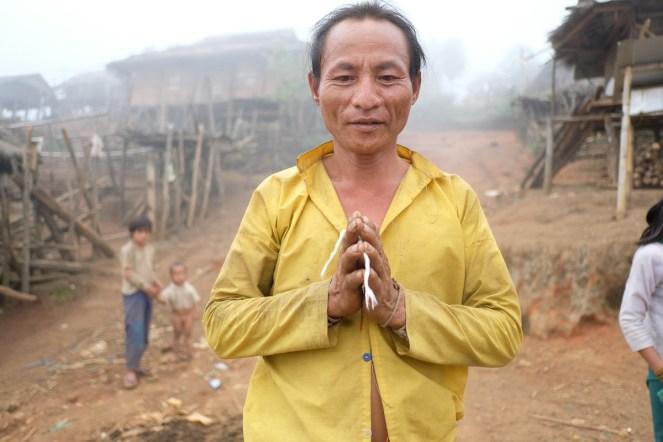 Kmen Lahu-Shi, vesnice Pang Pack