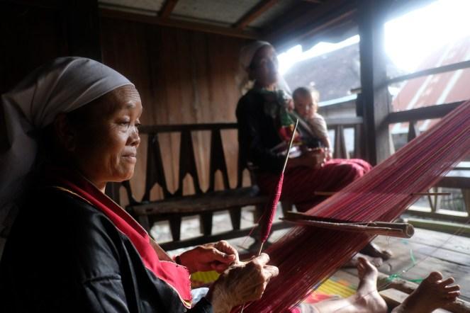 Palaungové, vesnice Wan Pauk