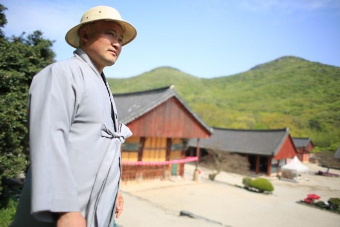 Mnich Wonjeong a klášter Sonunsa...