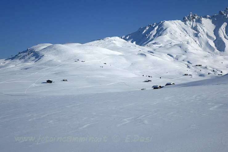 Alpe di Siusi ciaspole
