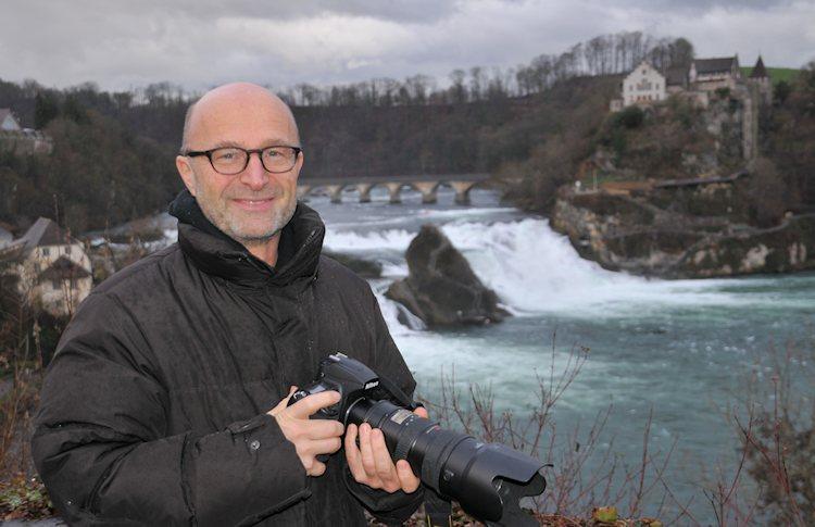 Er ist ein tckischer Kerl  der Rheinfall  fotointern