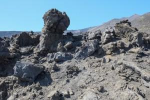 Lava bij Etna