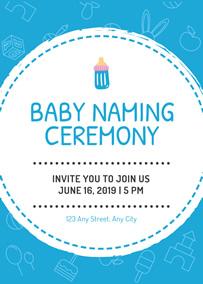 make naming ceremony invitation cards