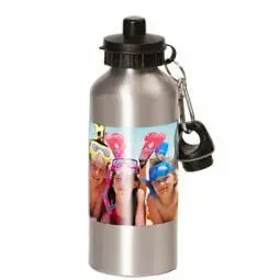 Aluminium drinkfles met foto 600ml