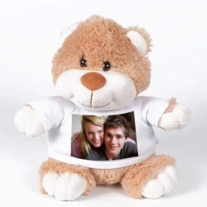 Knuffel met foto Teddybeer