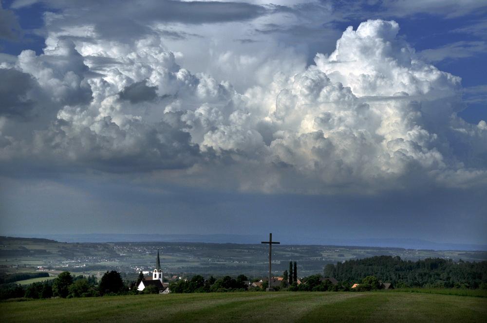 Gewitter über Toggenburg