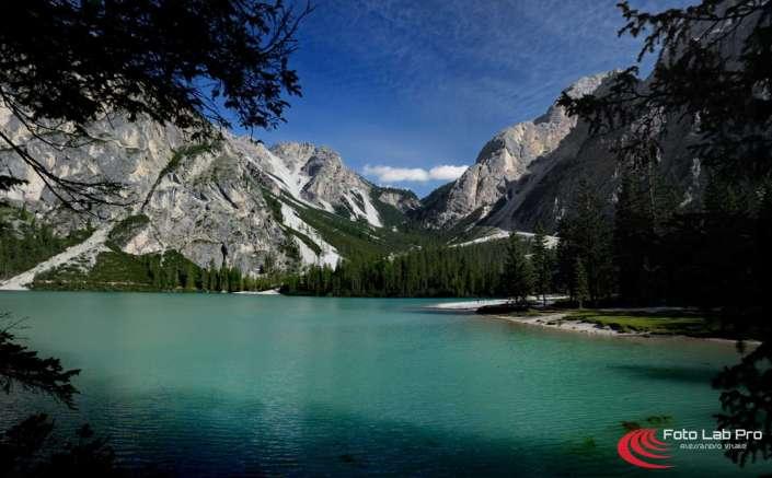 Braies il lago Trentino