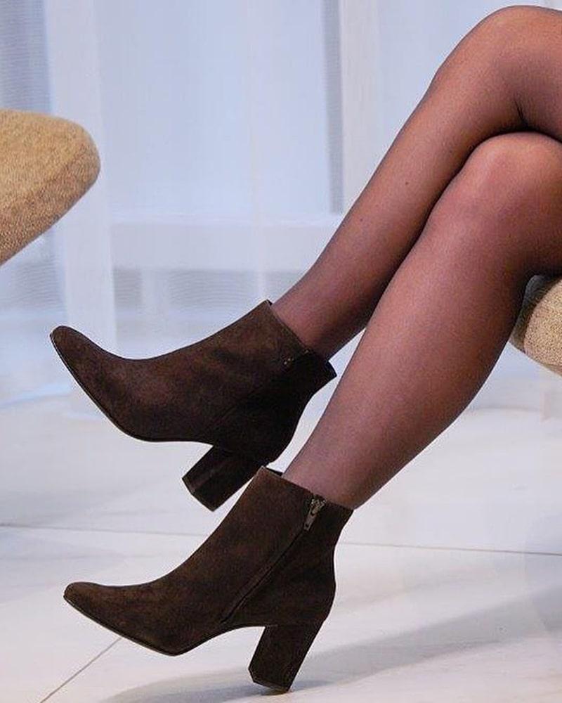 модная обувь ботинки коричневые