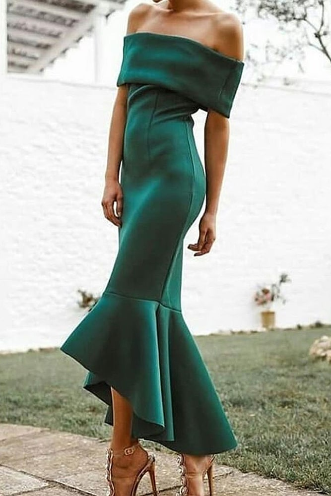 коктейльные платья бутылочный цвет