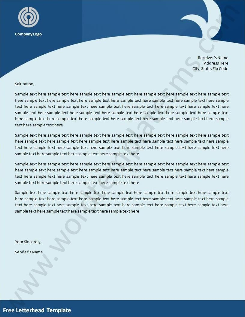 Free Letterhead Templates  Fotolipcom Rich image and wallpaper