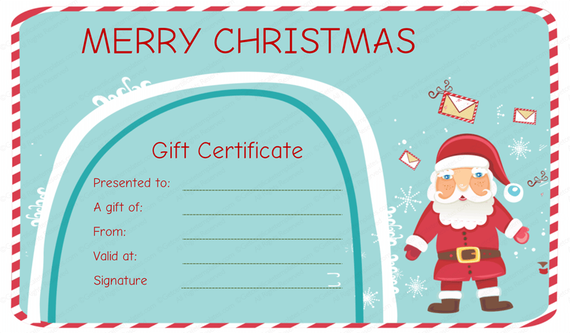 Gift Certificate Template Fotolip Com Rich Image And