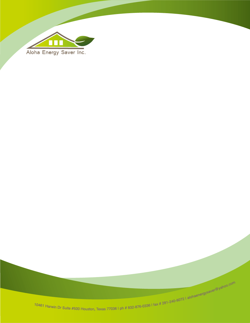 sample business letterhead with logo