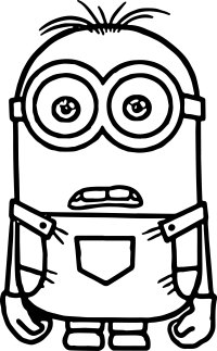 Minion Coloring Pages   Fotolip.com Rich image and wallpaper