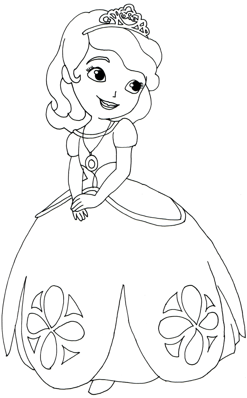 Sofia the First Coloring Pages - Fotolip | princess sofia coloring pages