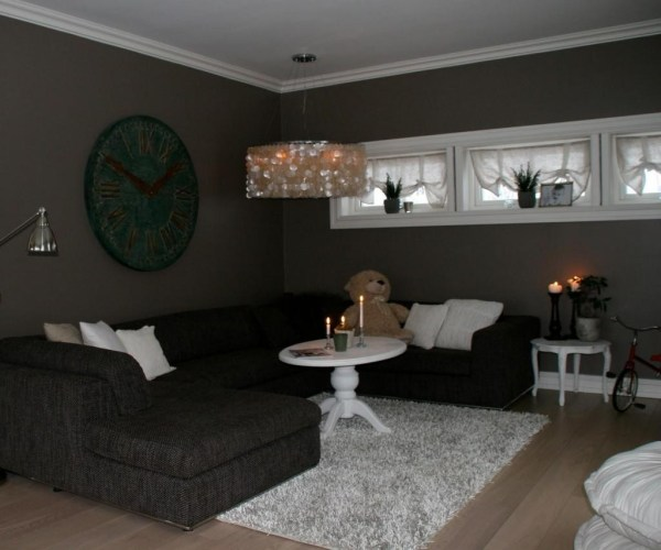 Small Dark Living Room Paint Colors