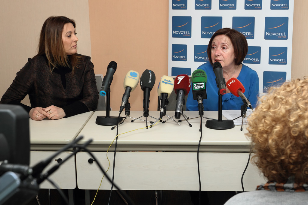 Press conference AEFAT-Murcia
