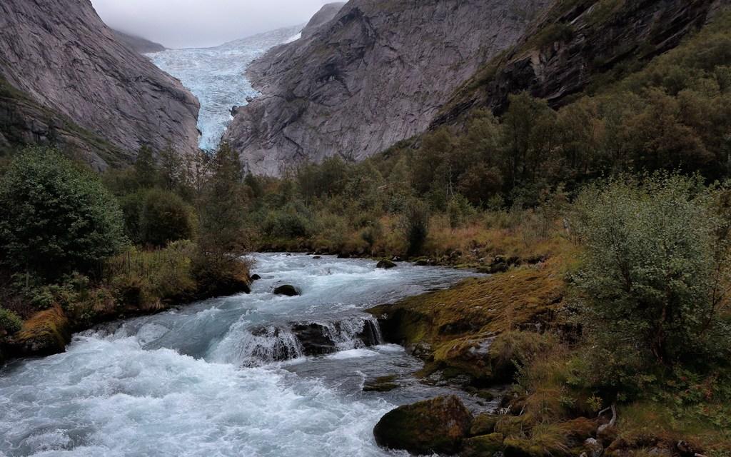 A visit to the Briksdal Glacier