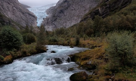 Visit to the Briksdal Glacier