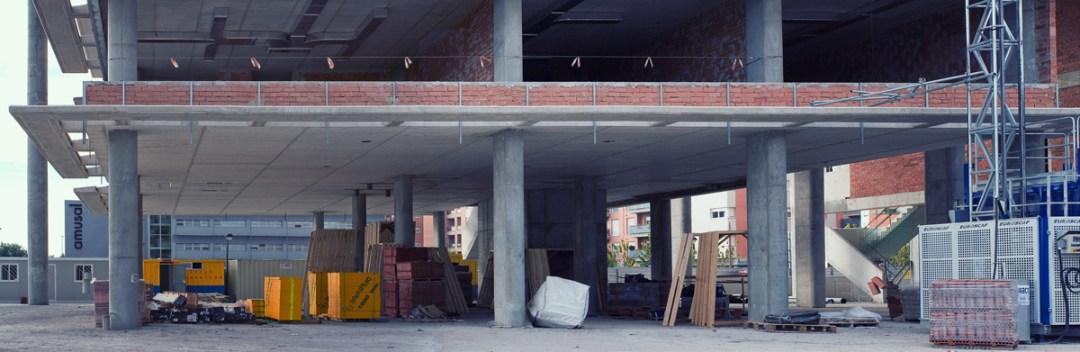 Local comercial en construcción