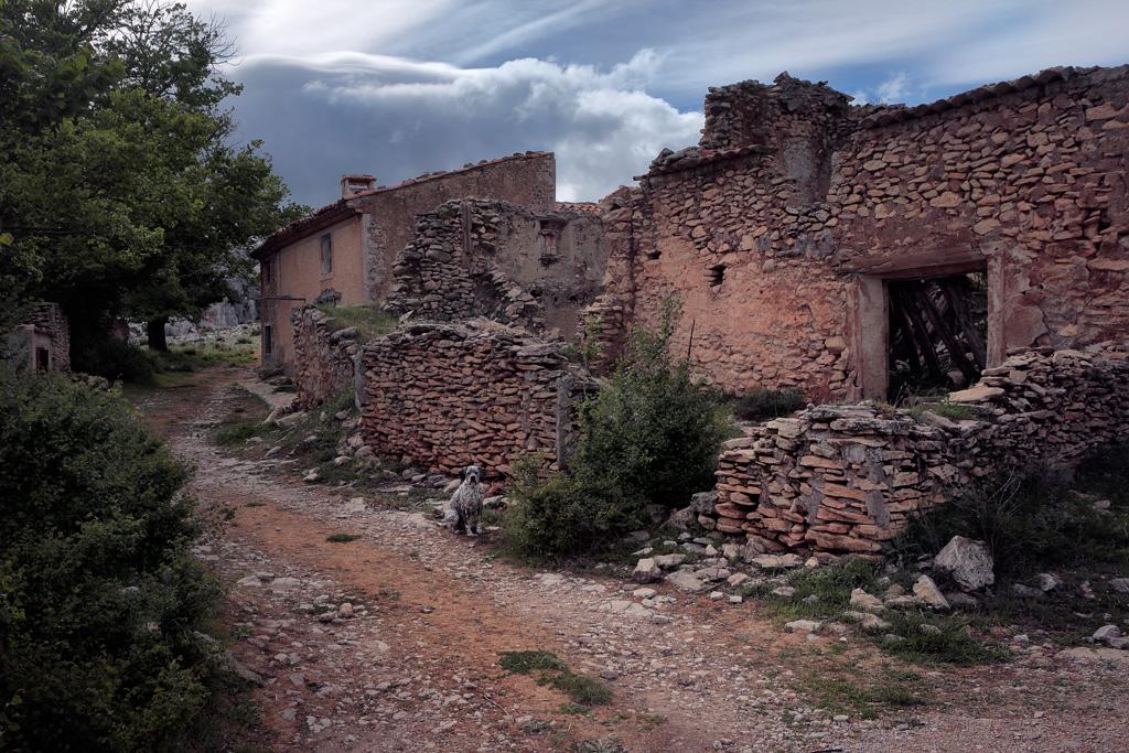 ruina en Charán