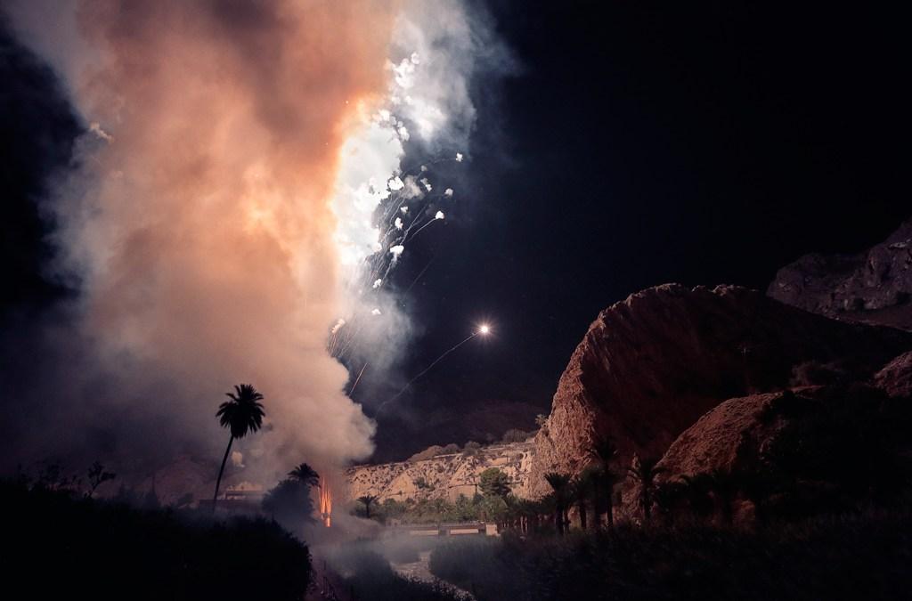 Más de dieciocho mil cohetes iluminan Ojós
