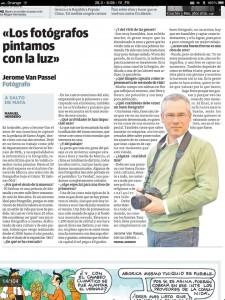 Articulo la Verdad van Passel