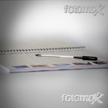 Foto planning da banco personalizzato con foto  Crea Planning online per aziende  Fotomox