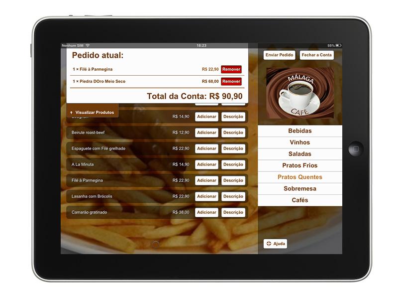Next Menu  Sistema para Cardpios Digitais em Tablets Fton Multimidia  Comunicao Interativa e Internet