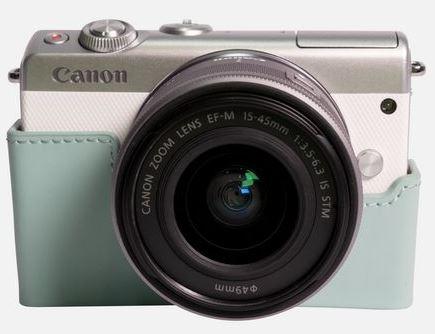 Canon EOS M100 - Bianco + Turchese