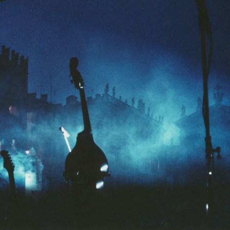 Mantova, piazza Sordello, 1988 - Luigi Ghirri (© Eredi di Luigi Ghirri / Courtesy Editoriale Lotus)