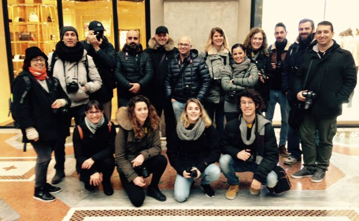 Il gruppo dei Fotoamatori di Cusano Milano