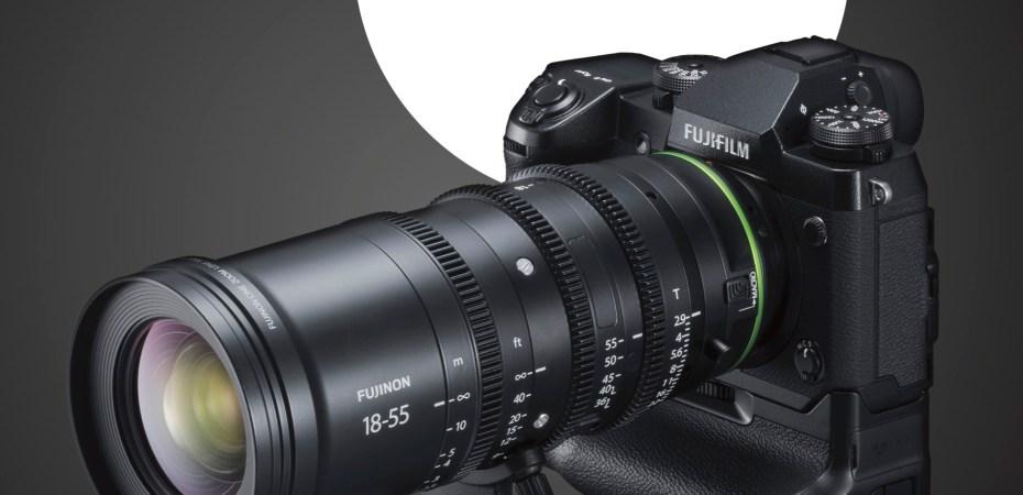 FUJIFILM X-H1 + ottica cine MKX
