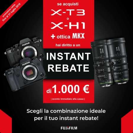Fujifilm Sconto X-T3 X-H1