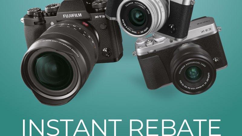 FujiFilm Estate 2019 INSTANT REBATE