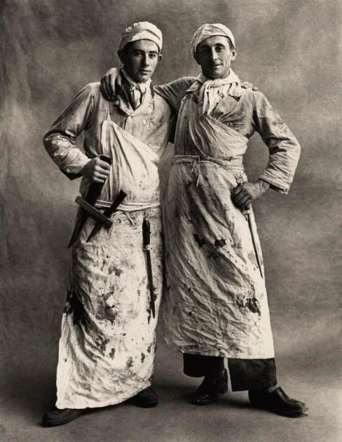 Irving Penn Les Garçons Bouchers
