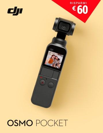 DJI GoCamera Offerte Pasqua Osmo Pocket