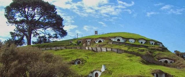 Matamata o la comarca de Hobbiton Nueva Zelanda