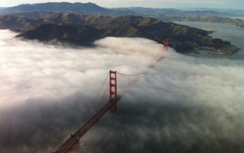 Golden Gate desde el aire