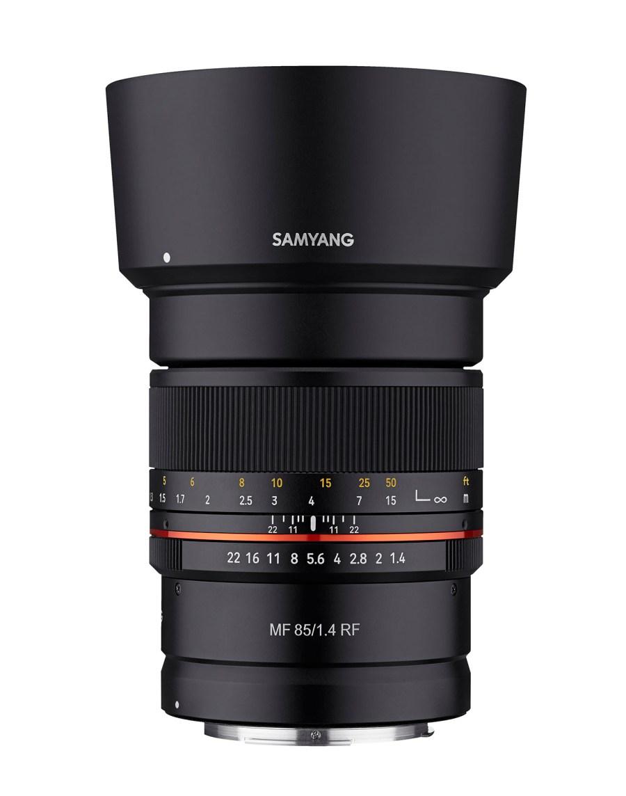 Konstruktion des Samyang MF 14mm F2.8 Canon RF