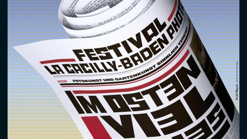 Das Festivalplakat des diesjährigen Festival La Gacilly-Baden Photo.
