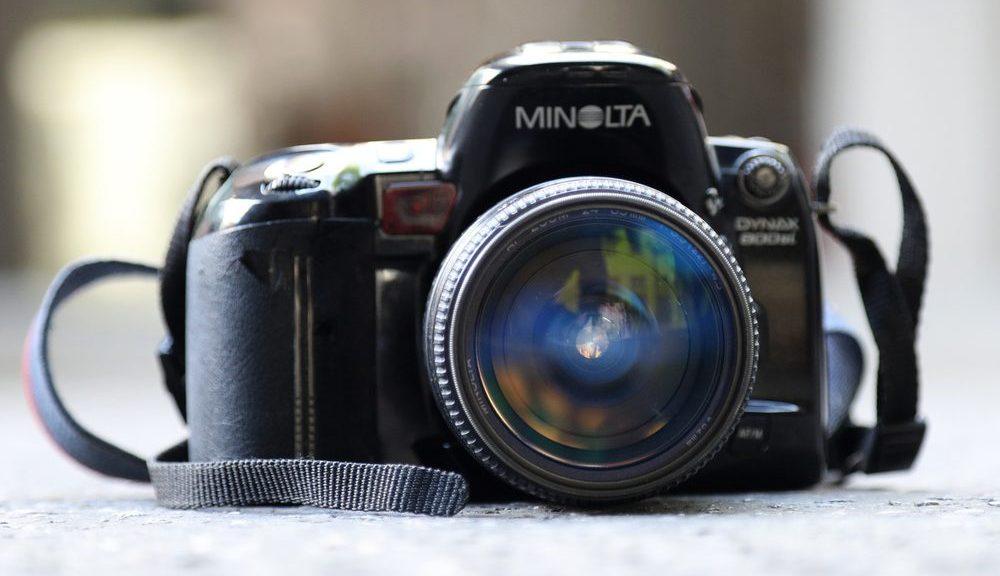 Analoge Kleinbildkamera Minolta XG1