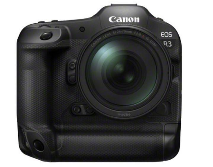 Canon kündigt die Entwicklung der spiegellosen Profikamera EOS R3 mit Eye Control Autofokus an. (c) Canon