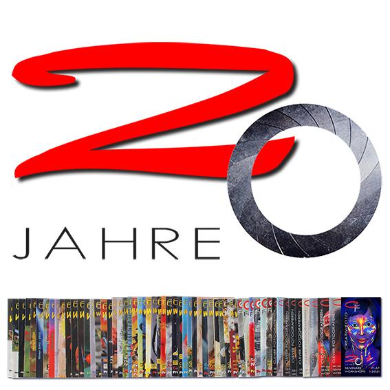 20 Jahre CREATIV FOTO und über 2.000 Veranstaltungen in 59 Broschüren. (c) CREATIV FOTO