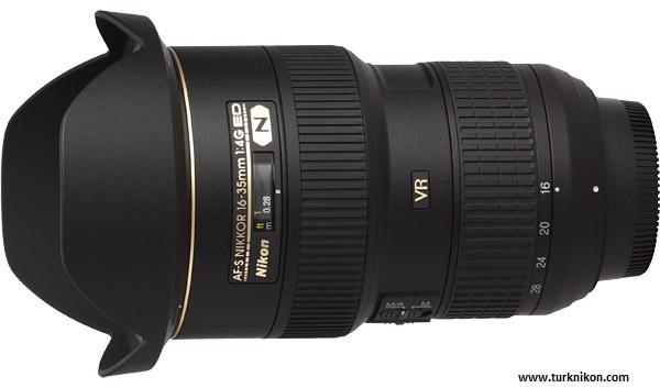 Nikon 16-35mm f/4G Lens