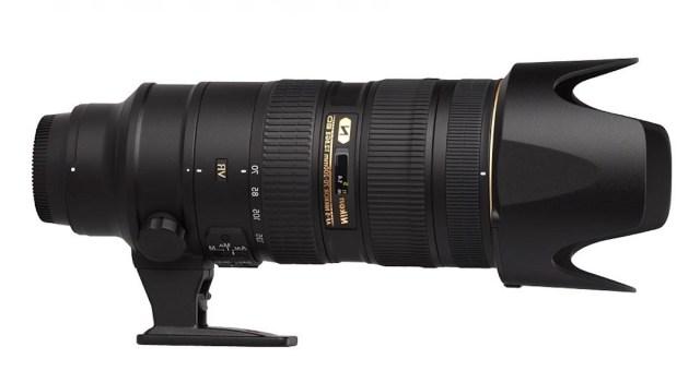 Nikon 70-200mm f/2.8 G VR II