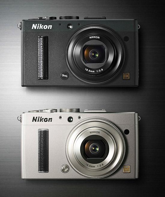 Nikon-Coolpix-A-siyah-gumus