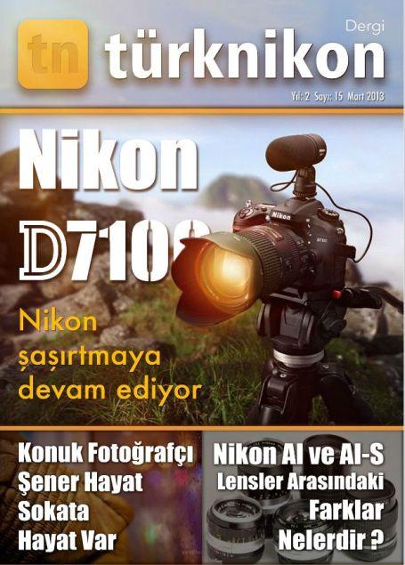 Türk Nikon Dergi Mart 2013-kapak