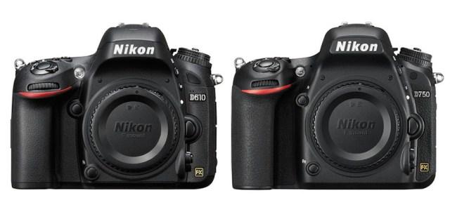Nikon D750 vs D610