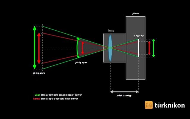 APS-c Sensör Nedir? Crop, Çarpanlı ifadeleri Ne Anlama Gelir?
